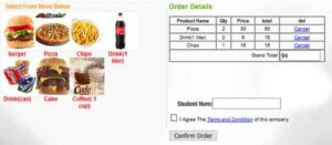 Free online cafe ordering system