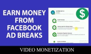How to earn money from Facebook videos