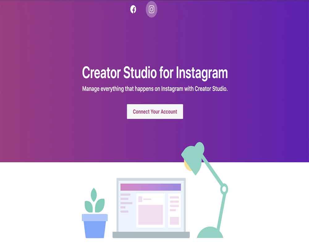 Facebook Creator Studio Instagram