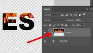 Photoshop Clipping Mask Shortcut